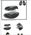 2007-2009 Real Carbon Fiber Side Door Mirror Cover Protecter Caps for BMW 3 Series 2 door E92 E93 328I 335I