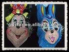 2012 design colorful cartoon PVC mask for children