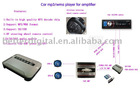 car USB SD player with RF remote control