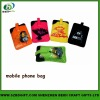 newest heat transfer printed mobilephone bag