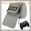 7inch tft lcd screen headrest dvd player for car