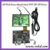 VGA driver/AV board