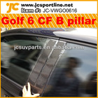 Car Accessoires Carbon Fiber Golf MK6/Golf V/Golf 6 B Pillar for VW