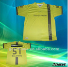 custom polyester football jersey soccer uniform