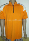 orange zipper short sleeve mens t shirt