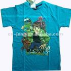 100%cotton stylish boys printed t-shirt