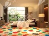 colorful soft fashion pattern decorative flooring