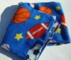New Sports Football Basketball Fleece Throw Blanket