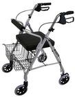 Aluminum rollator walker ( rolling walker, wheel walker, walking aids )