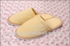 2012 newest closed toe terry hotel slippers