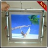 HS-double sided hanging crystal led light box