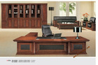 2012 Walnut Office Furniture Executive Desk