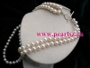 Brand New Fashion Luxurious Freshwater Pearl Necklace P11