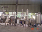 Herb extractor and concentrator process line