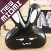 Hot!Miomi love rabbit black contact lens case Nano anti-microbial contact lens