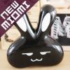 Hot!Miomi love rabbit black contact lens case Nano anti-microbial contact lens