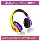hot sale rich bass foldable studio headphones with excellent sound