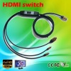 HDMI cable with HDMI switch