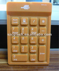 18 keys keyboard, silicone Number Keypad, mini keyboards