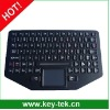 silicone rubber keyboard with touchpad,function keys