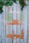 Garden Decoration_Metal Outdoor Scenic Chime_Bear