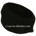 Acrylic Thinsulated Headband - Black ccap-1052