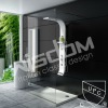 Freestanding solid surface Shower Panel WD0039