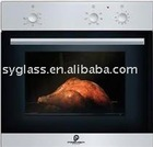 4mm tempered fireplace glass