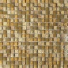 10*10mm mosaic with yellow color (KMS017)