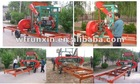 portable band sawmill diesel engine