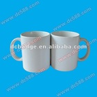 white ceramic sublimation mug can priting picture coated mug