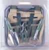 gardener folding seat /garden tool set