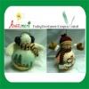 "Light Up Plush Snowman - 12.5"" plush doll"