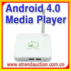 Android 4.0 tv box full hd media player