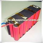 8s2p KeepPower 29.6v 5200mah protected 18650 sanyo lithium ion battery pack