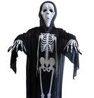 New Arrival Halloween Black Cloak Ghost Scream Skeleton Mask