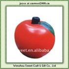 custom apple shape children toy funny pu stress ball