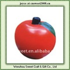 custom apple shape children toy funny pu stress ball