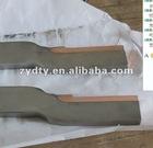 Cu-Steel clad cooper plate