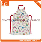Little girl handbag white cute cooking apron