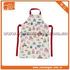 Little girl handbag white cute cooking apron