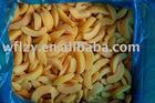 chinese IQF Peach sliced