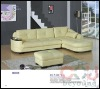 7880 corner sofa/living room leather sofa/cream color leather sofa