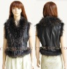 CX-G-B-113 Genuine Sheepskin Leather Vest