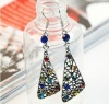 Supplly jewelry Rhinestone alloy earrings