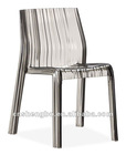 2012 PC grey transport modern cheap plastic chairs wholesale of price