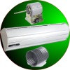 commercial air curtains with remote controller and air speed 20m/s