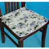100 Cotton Flower Printed Outdoor Shower Pad in Trapezoid