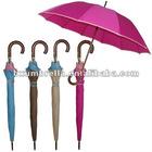 "26""X12ribs stick manual open wooden strong windproof umbrella paraguas parasol guarda-chuva paraply sateenvarjo"
