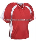 Nylon Tricot Mesh 100% Polyester Lacrosse Jersey.